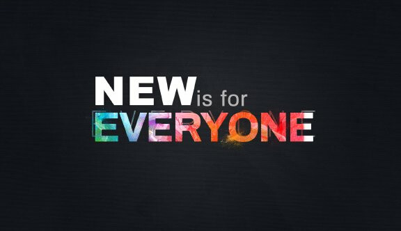 Series-New is for Everyone